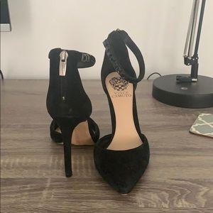 Vince Camuto black stilettos